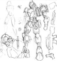 2011 Mech Concept 2 by NoviceArtist487