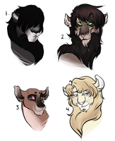 :: Lion Adoptables -- OPEN by sjsaberfan