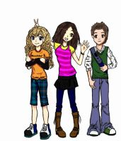 iCarly - Cheesily Posed by Darkenedkags