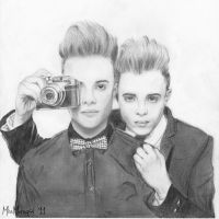 Jedward Again by MissMarsupial
