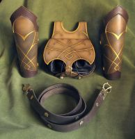 Elven leather set by Fantasy-Craft