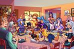 Spiders and Magic: Breakfast of Champions by Jamal2504
