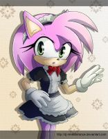pretty maid Amy Rose by Dj-Reverberance