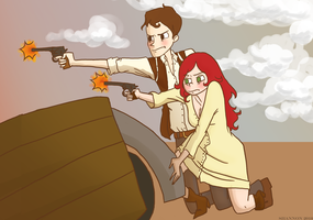 Woody and Jess by Sun-face