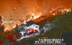San Marcos Coco Fire Cal State San Marcos by OgJimrock