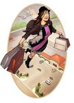 Flying High and shopping by spidermanfan2099