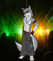 Furry Rave by FoxRaver