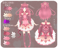 .: Ref : Chirin :. by choli-adopts