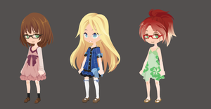 Glasses Cuties Write-to-Adoptables -TAKEN- by Mellowadoptables