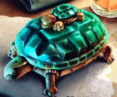 Jade Turtle drawer by isaac77598