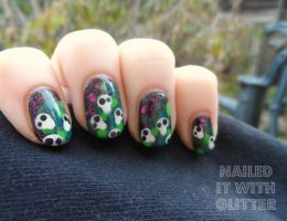 Halloween Ghouls by NailedItWithGlitter