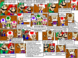 super mario bros page 7 by Nintendrawer