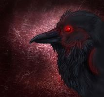 Quoth the Raven, 'Nevermore' by KahlaWolf