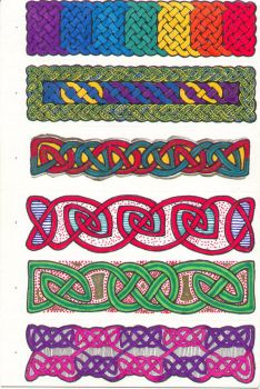 Knotwork Bookmarks - Pg 2 of 2 by Quilldriver