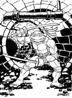 Leonardo - Teenage Mutant Ninja Turtles by AtelierLambert