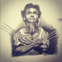Wolverine by Only1Stevey