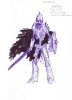 Undead warrior by concho