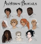Ashtown Burials Characters Colored by lostie815