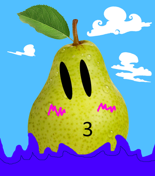 Cute Pear of Various Images and Paint Editing Mix by Friendofox