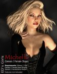 Freebie: ED's Girls Michelle (G3F shape) by Edheldil14