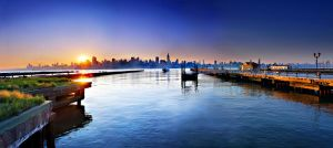 Sunrise in New York by zolthan5