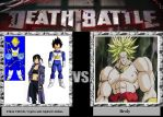 DB- Ethan, Vegeta and Alphard Alshua vs Broly by 17Chaos
