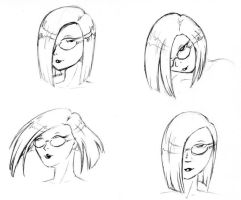 More Tasha Hair Experiments 1 by TCPolecat7