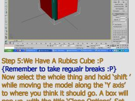Rubics cube tutorial by 3d-studio-max