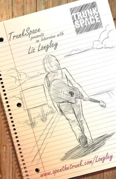 Liz Longley poster for TrunkSpace by DustinEvans