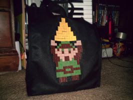 Link tote bag -Duct tape- by dbgtrgr