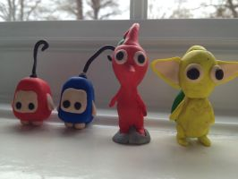 My Fimo Models by SonicAngel23