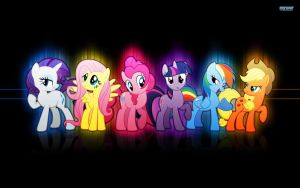 Awesome MLP FIM wallpaper by lintner