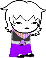Sprite Edit - Rose Lalonde by N1ght1ng4L3