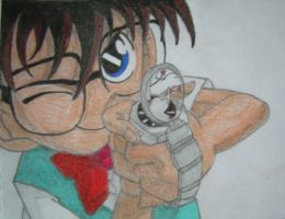 Detective Conan by pizza-eater