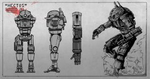 Hectos Mech: Model Sheet by TeejBadeej