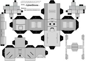 Cubee - Cyberman 'Mk6' by CyberDrone