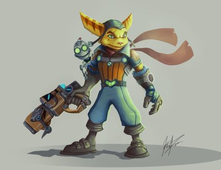 Ratchet and Clank by Karlingvarsson