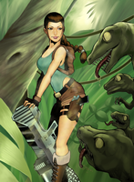 Lara Croft by Bariarti