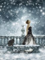 Amid The Falling Snow by LuthiensLight