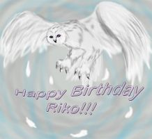 Happy B-Day Riko by MunTheWerewolf