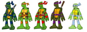 Nicktoons TMNT 2 by CandyKappa