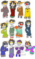 Trolls With Sweaters by Socks-and-Notebooks