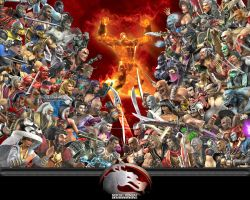 MK Armageddon Collage by dragonnjmb