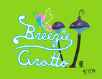 Kingdom Hearts World Logo: Breezie Grotto by JazzyTyfighter