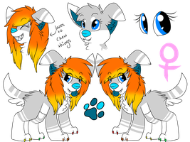 Reference Sheet by DeerNTheHeadlights