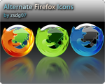 Alternate Firefox Icons by zsdg07