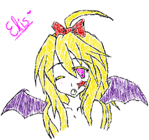Elis the first loli vampire by Chocolate-Afro-Jesus
