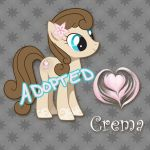 MLP Adoptable - Crema - (CLOSED) by nightingale5601