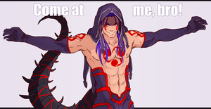 FGO: Come at me bro by KeyHof