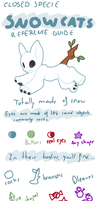 OPEN SPECIESSnowcats species reference guide by Ayinai